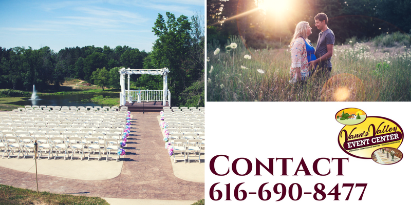 Contact Vann's Valley Event Center for Wayland Weddings