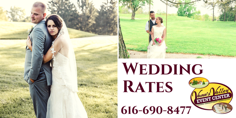 wedding venue rates
